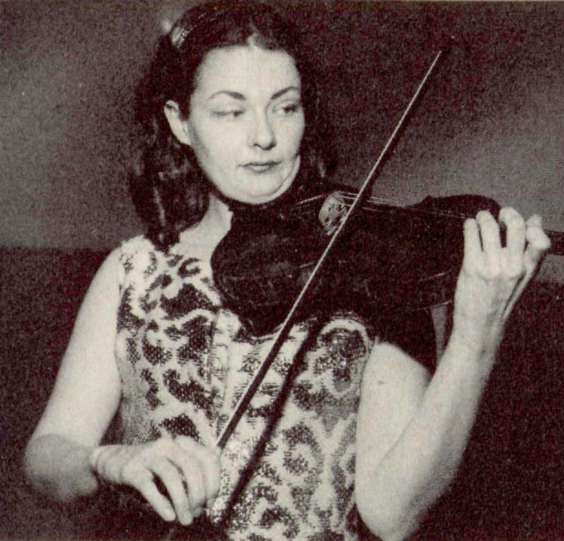 Jenny ABEL, D.R., une photo publiée dans la revue FonoForum en octobre 1980, cliquer pour une vue agrandie et plus d'infos