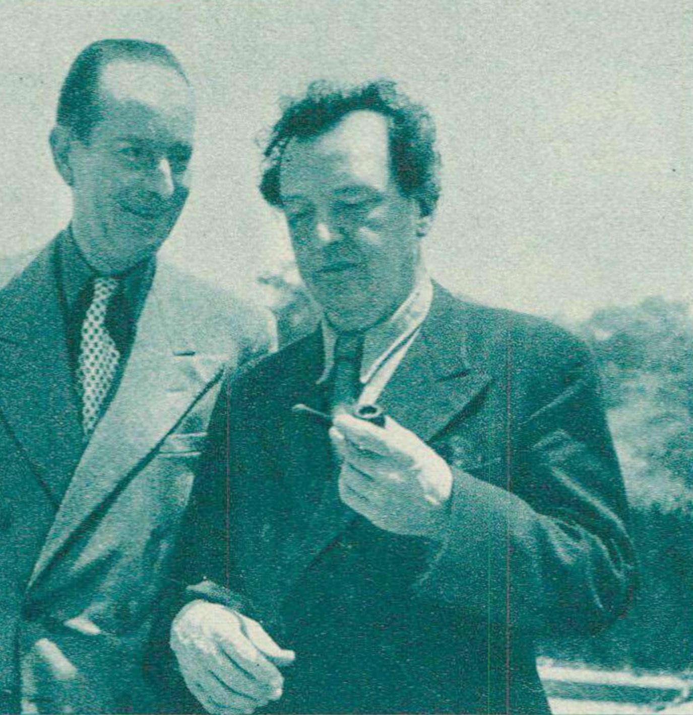 William AGUET et Arthur HONEGGER