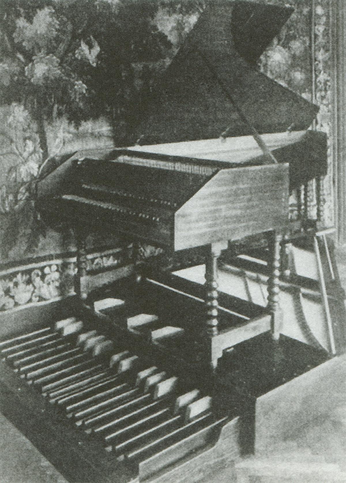 Clavecin avec pedales Ammer de 1941