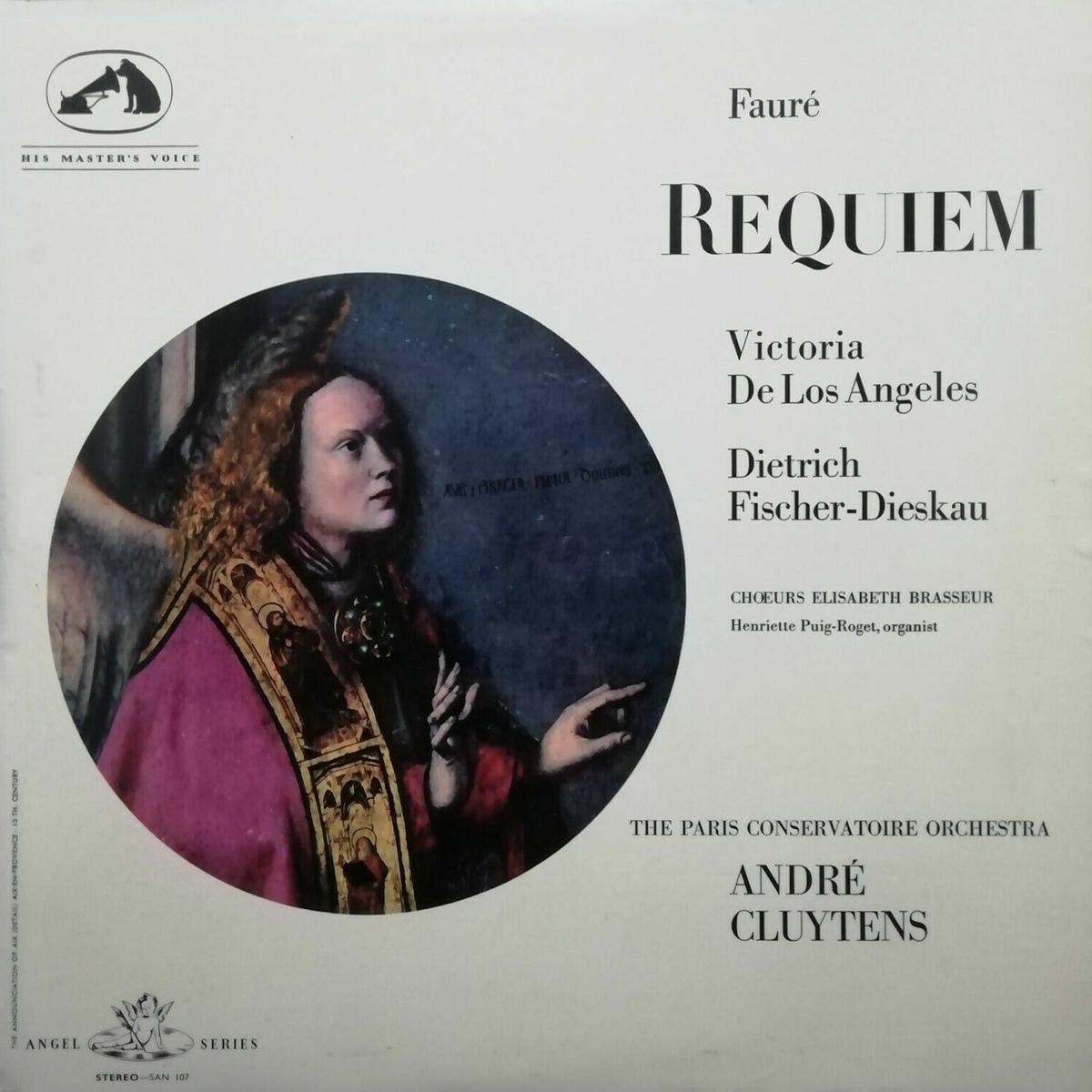 Recto de la pochette du disque Angel Stereo SAN 107