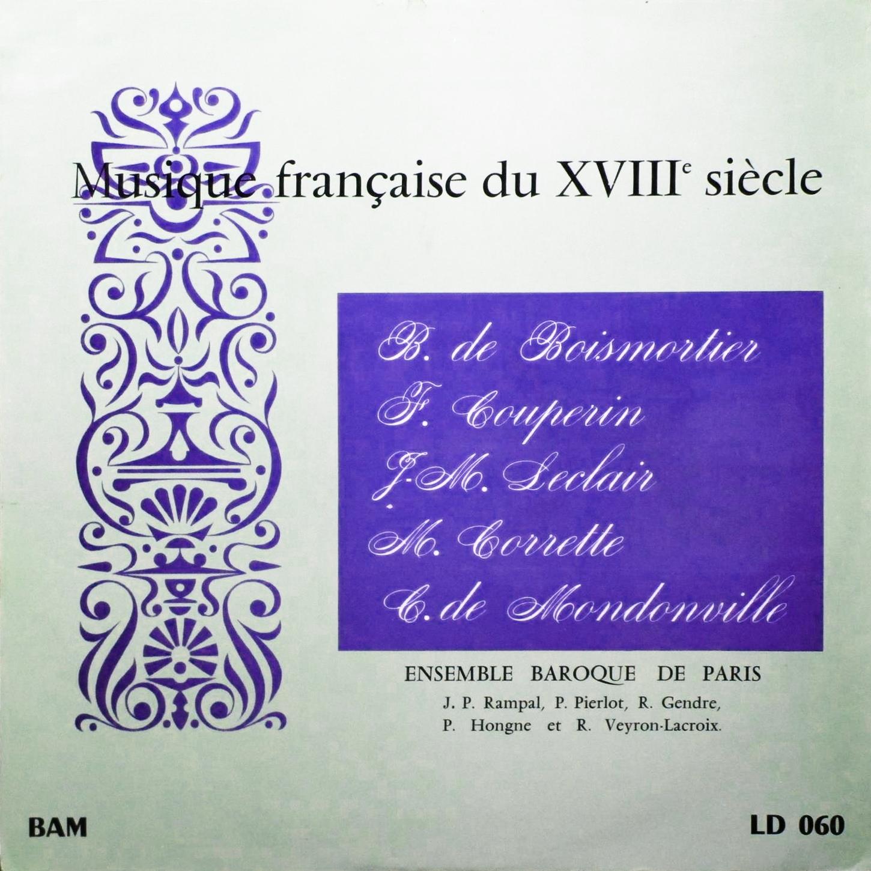 Recto de la pochette du disque Boîte À Musique BAM LD 060
