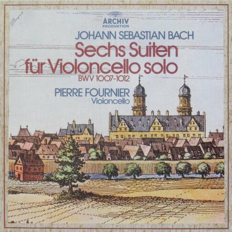 Recto de la cassette des disques Archiv Produktion  de l'édition allemande