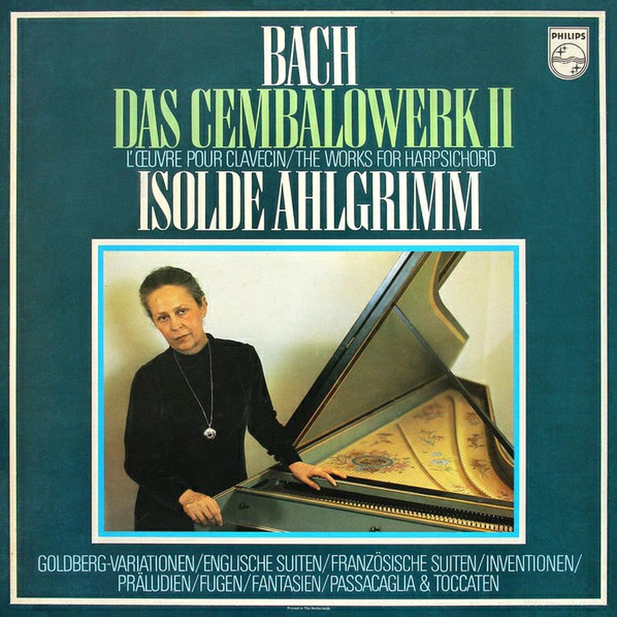recto du deuxième coffret Bach, cliquer pour une vue agrandie