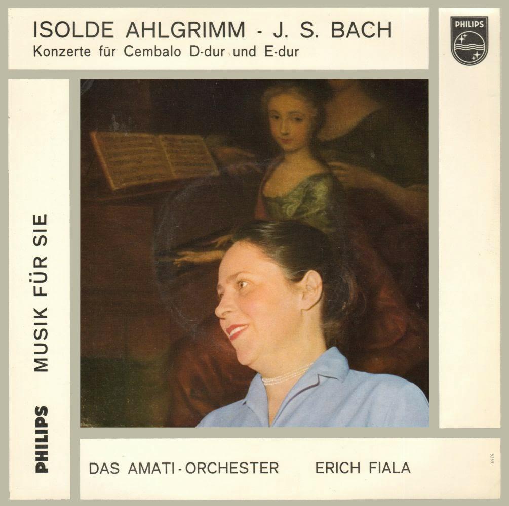 Pochette disque Philips Bach-Konzerte D-dur Es-dur Fiala, cliquer pour plus d'infos