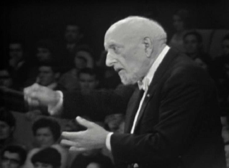 Ernest ANSERMET, 25 novembre 1967, Grand Auditorium de l'ORTF, Paris