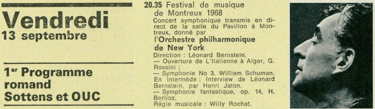 2e concert de l'Orchestre Philarmonique de New-York
