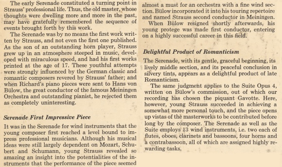 extrait des notes de Karl Geiringer publiées verso de la pochette du disque Boston Records B 406