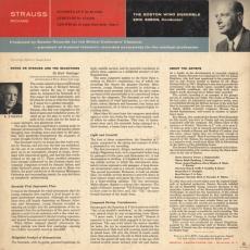 Verso de la pochette du disque Boston Records B 406
