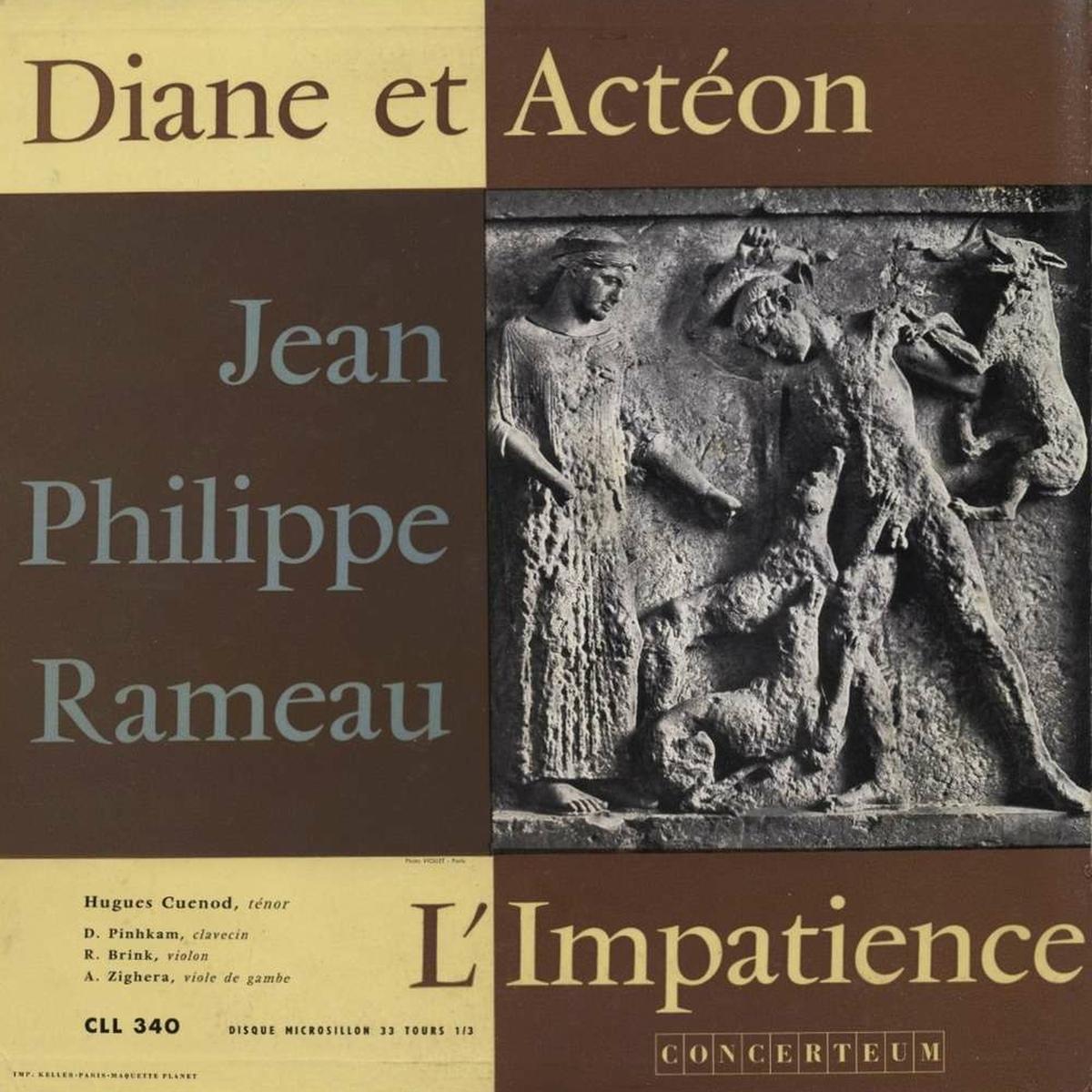 Recto de la pochette du disque Concerteum CCL 340