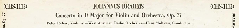 Extrait du verso de la pochette du disque Concert Hall CHS 1113