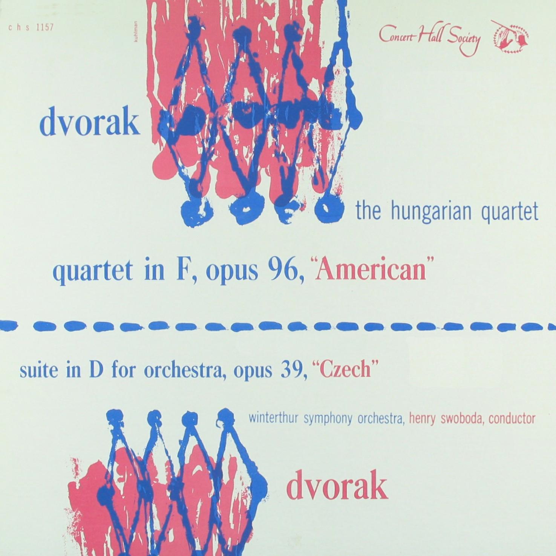 Recto de la pochette du disque Concert Hall CHS 1157