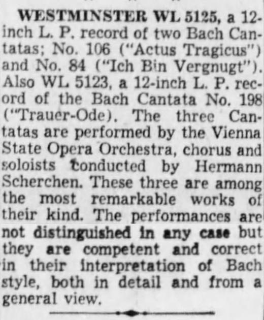 Extrait du quotidien The Cincinnati Enquirer du 25 mai 1952, page 108