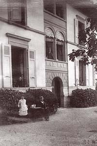 Pension Richelieu, Clarens, à l'époque du séjour de Tschaikowski