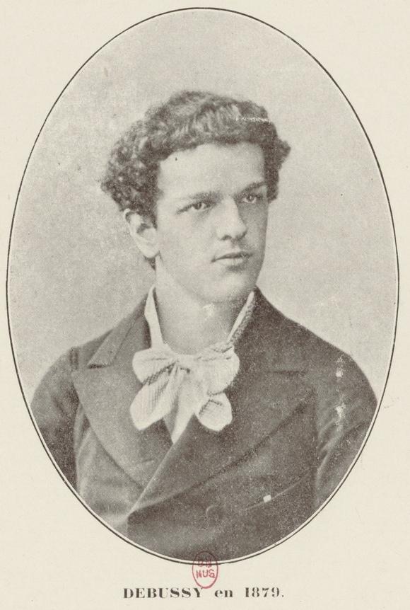 Claude Debussy en 1879, Gallica/BNF
