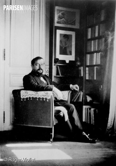 Claude DEBUSSY en 1910, Roger-Viollet Paris En Images, cliquer pour voir l'original
