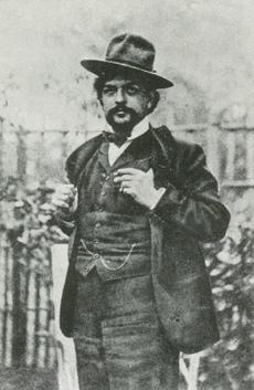 Claude DEBUSSY en 1902, un portrait fait par NADAR, cliquer pour une vue agrandie et plus d'infos