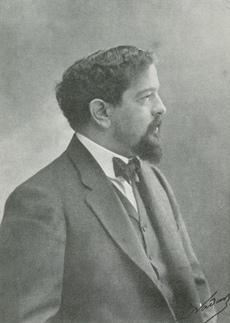 Claude DEBUSSY en 1903, un portrait fait par NADAR, Cliquer sur la photo pour une vue agrandie et quelques infos