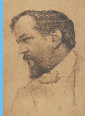 Claude Debussy, dessin de Yvan Thièle