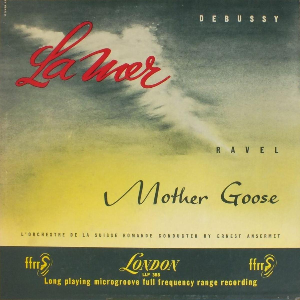 Recto de la pochette du disque Decca London LL 388, cliquer pour plus d'infos