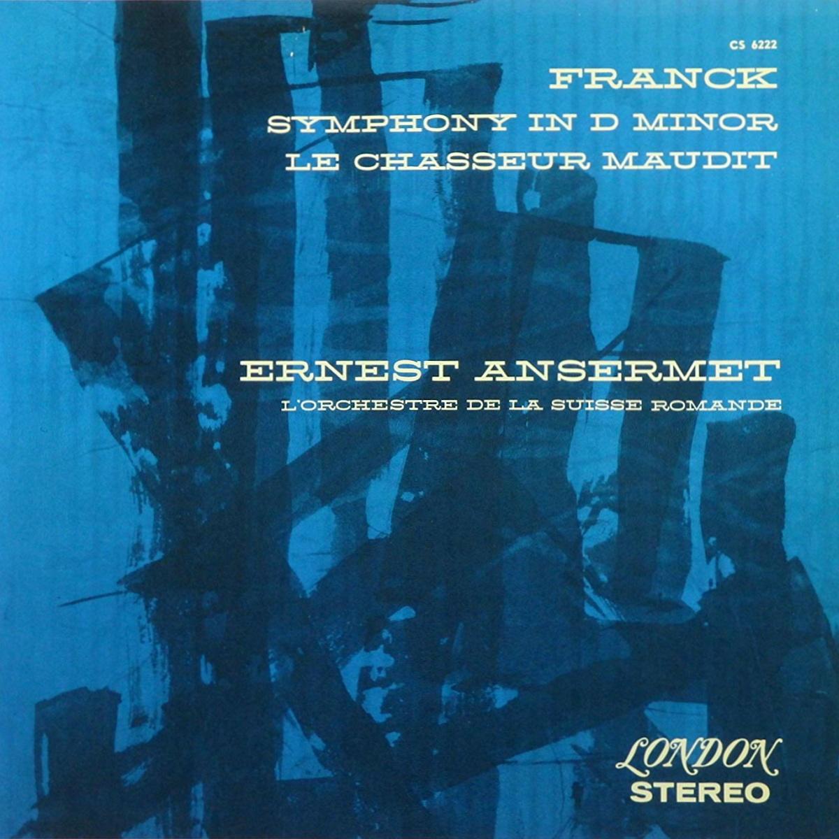 Recto de la pochette du disque Decca LONDON CS 6222, cliquer pour plus d'infos