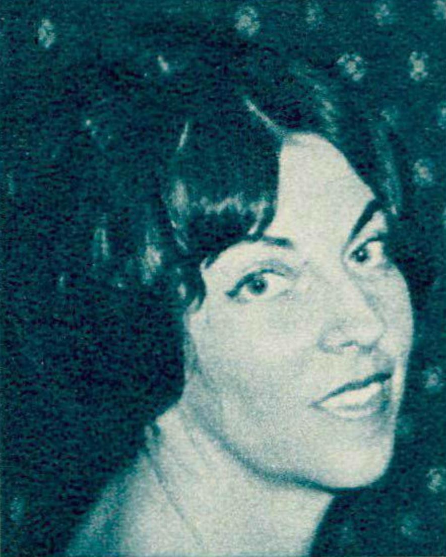 Lucienne Devallier, portrait fait par Photo F.Mueller, publié entre autres dans le Radio Je vois tout TV du 19 septembre 1963, No 38, page 45