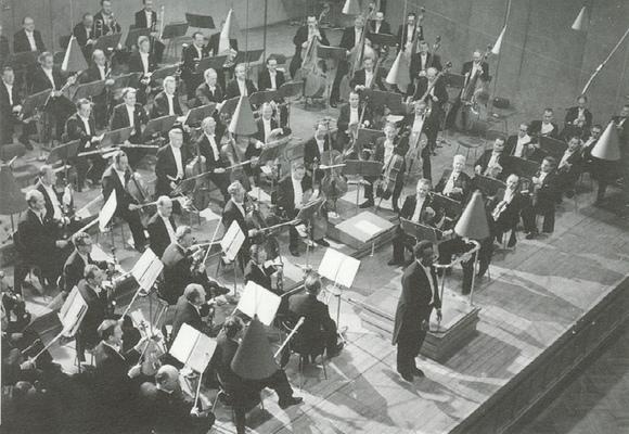 Dean Dixon et l'Orchestre Symphonique de la Radio Bavaroise vers 1957