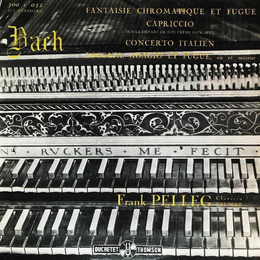 Recto de la pochette du disque Ducretet-Thomson 300 C 032, Cliquer sur la photo pour une vue agrandie