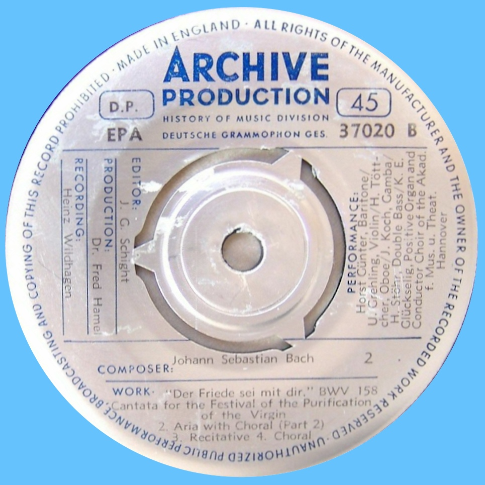 Archiv Produktion EPA 37020