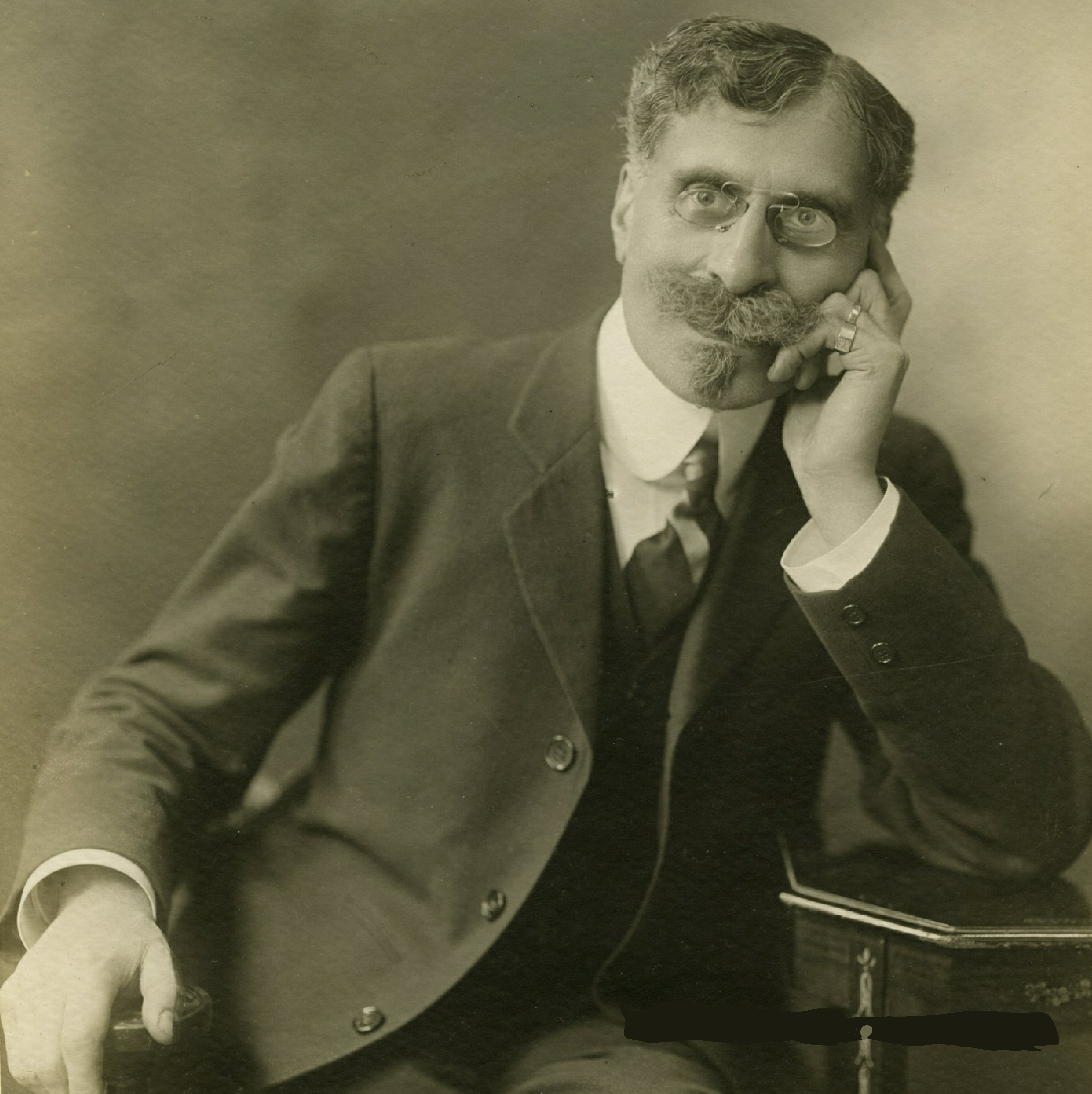 Maurice EMMANUEL vers 1910