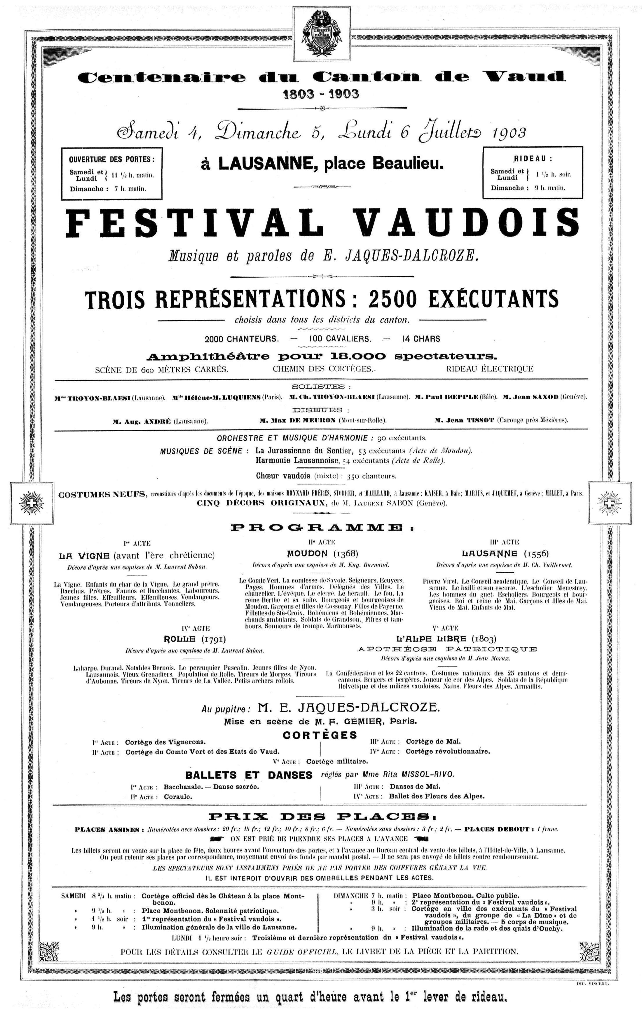 cité de la Feuille d'Avis de Lausanne du 1er juillet 1903, No 152, page 17