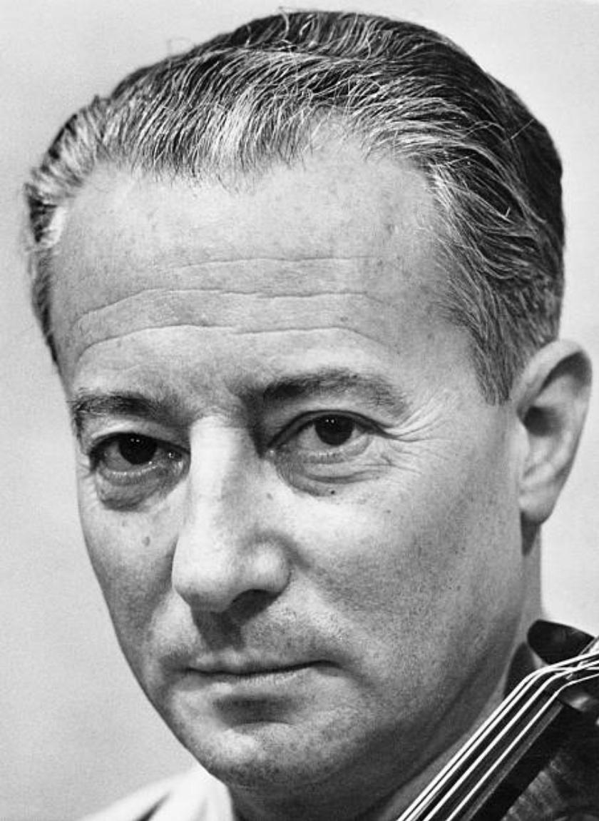 Pierre FOURNIER; 27 septembre 1957, un portrait fait par Erich AUERBACH