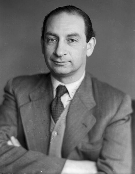 Walter GOEHR en 1950, D.R. Photographe ??, lieu ??