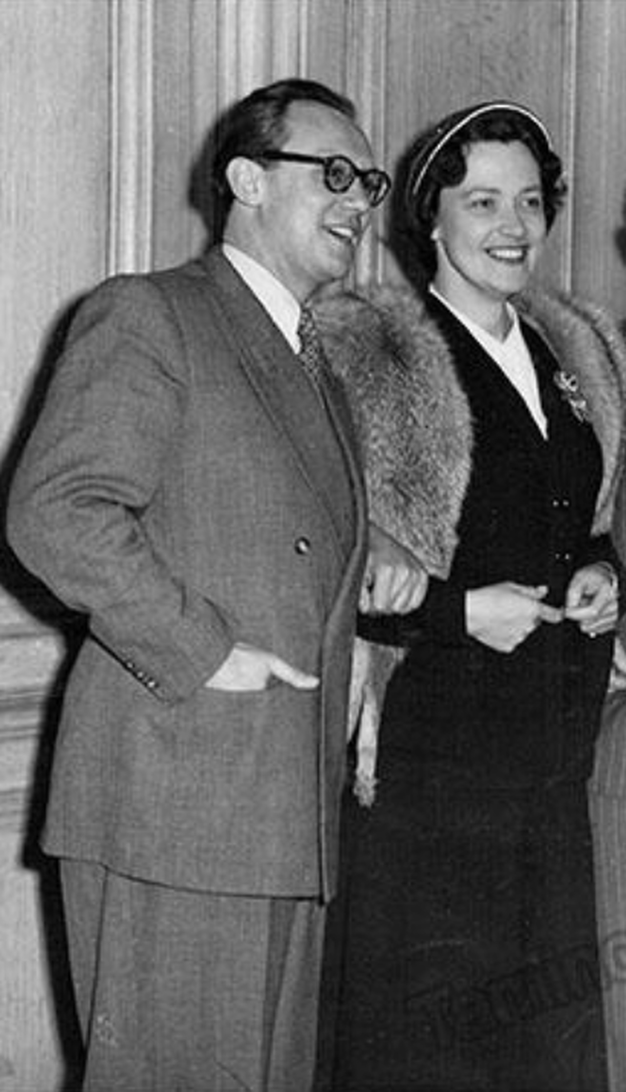 Horst GÜNTER et Kathleen FERRIER, D.R., date ??, photographe ??, lieu ??, cliquer pour un agrandissement et quelques infos