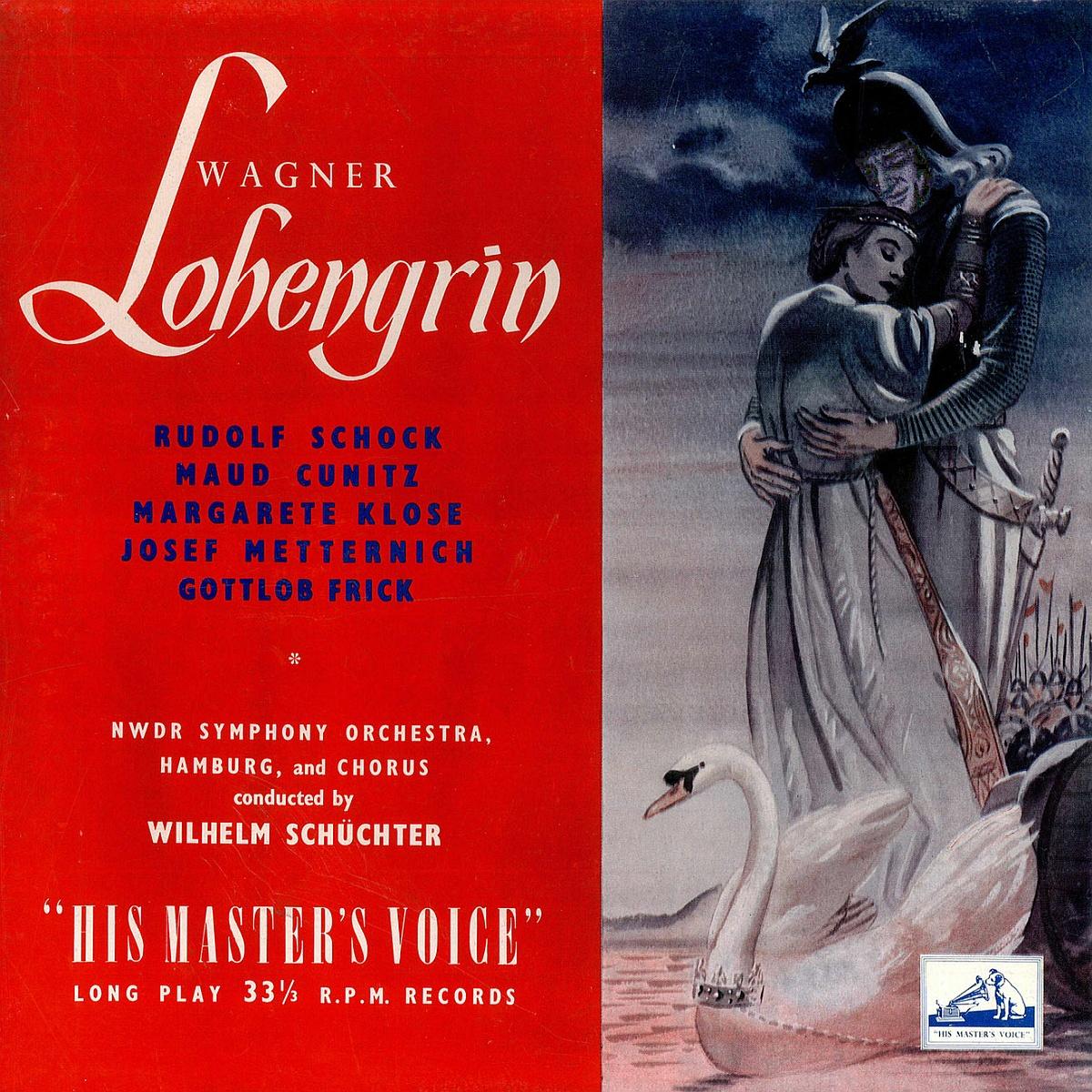 Recto de la pochette du disque HMV ALP 1095-1098, Cliquer sur la photo pour une vue agrandie et les références