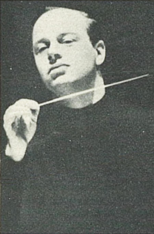 Bernard HAITINK, un portrait fait par Anthony Altaffer, Zürich, publié entre autres dans la revue L'Illustré du 9 septembre 1965, No 37, page 87