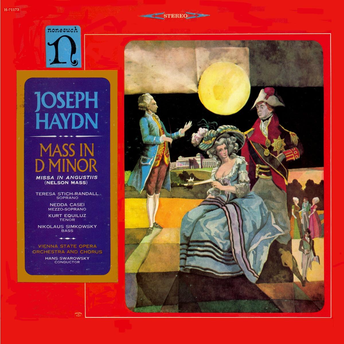 Recto de la pochette du disque Nonesuch H 71173, coverart James Barkley, cover design William S. Harvey, Cliquer sur la photo pour une vue agrandie