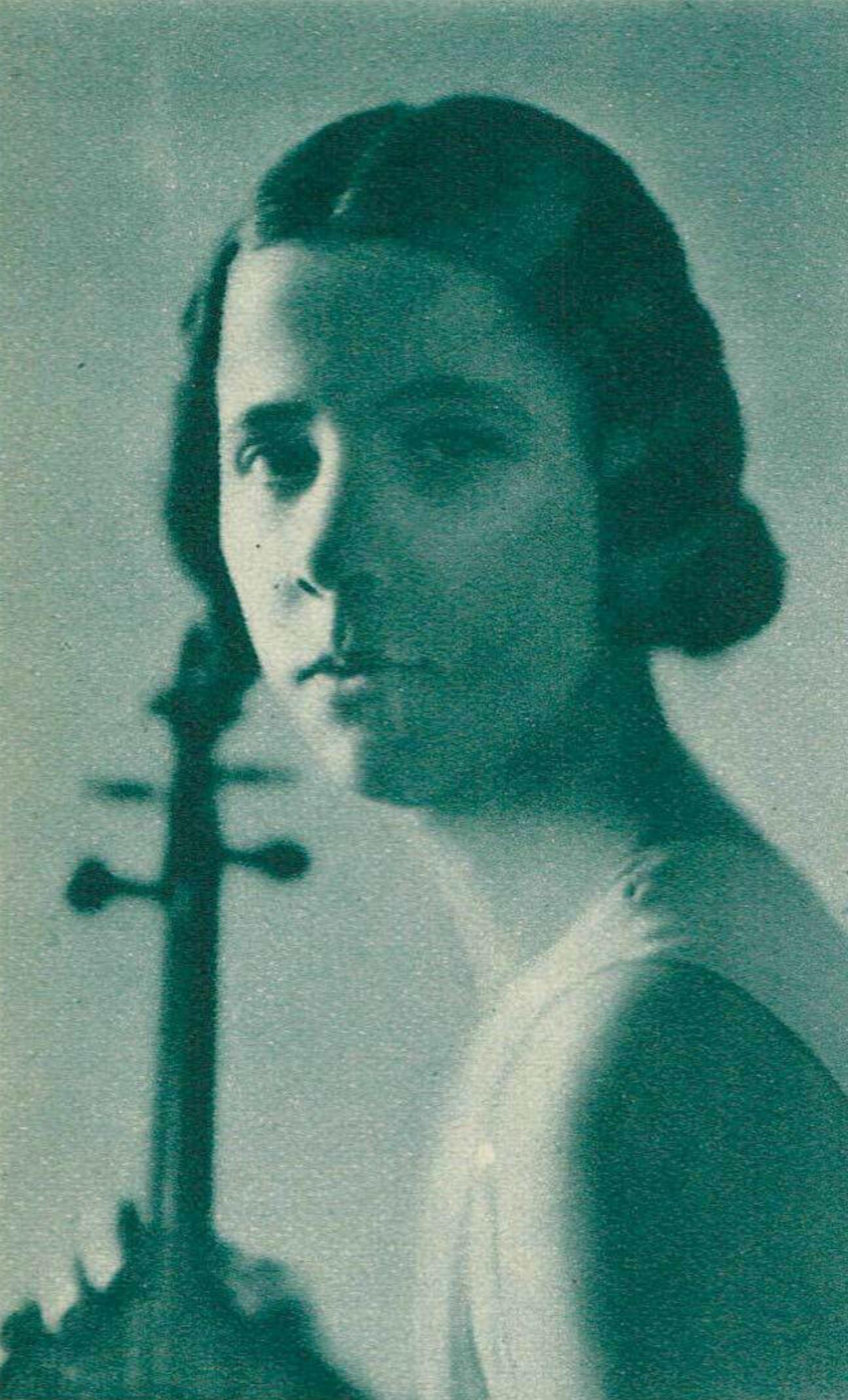 Blanche HONEGGER, revue Le Radio du 20 septembre 1935, No 650, page 1790, cliquer pour une vue agrandie et quelques informations