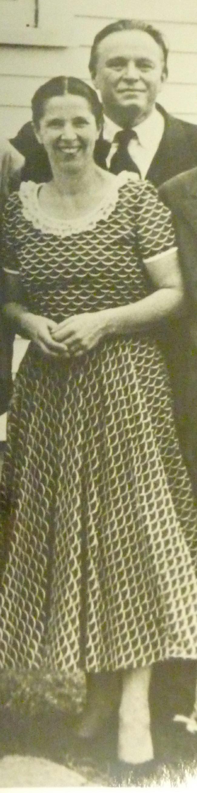 Blanche HONEGGER, dérrière elle Adolf BUSCH, années 1950, Cliquer sur la photo pour une vue agrandie et quelques infos