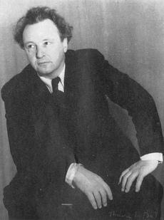 Arthur HONEGGER, une photo de Thérèse Le Prat, date ??, lieu ??, cliquer pour voir un agrandissement