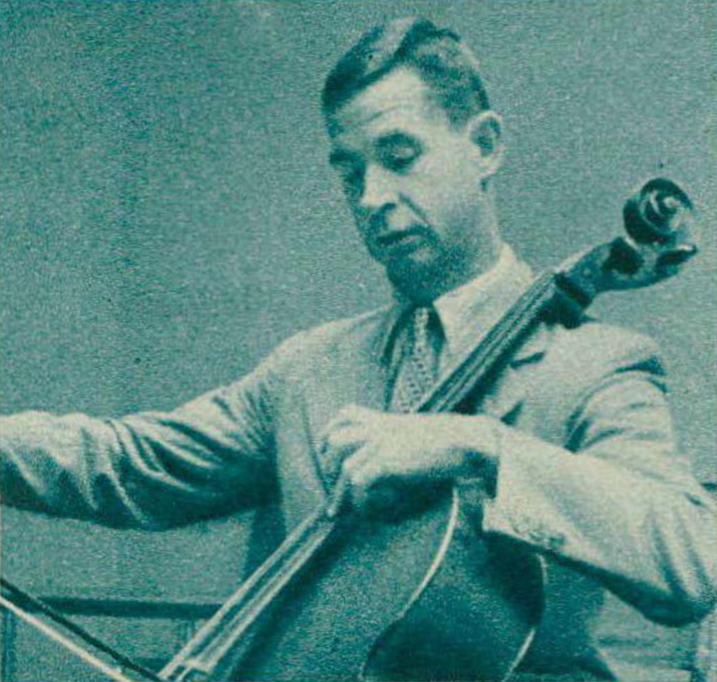 Henri HONEGGER en 1943, une photo parue dans la revue Radio Actualités du 19 novembre 1943 en page 1447