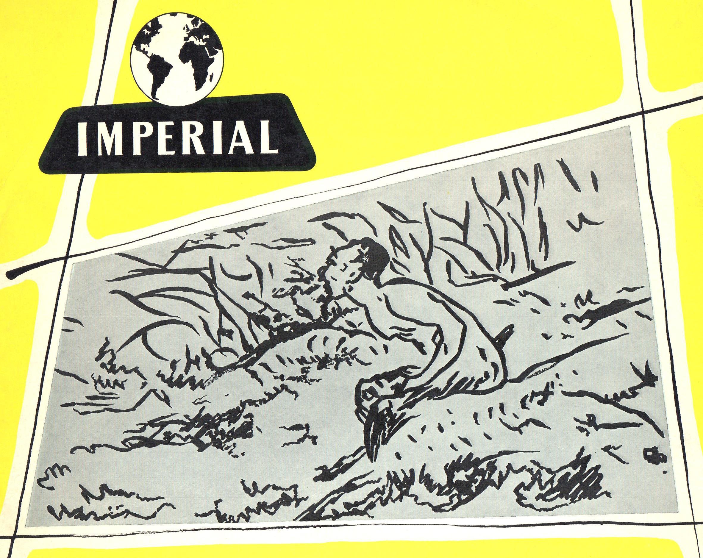 Extrait du recto de la pochette du disque ILP 126, reprenant le dessin d'Édouard Manet fait pour la première édition du poème de Mallarmé, Cliquer sur la photo pour une vue agrandie et quelques infos