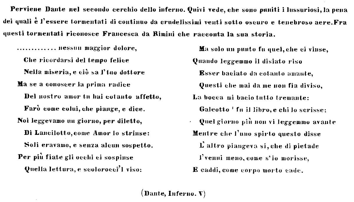 Préface que Tschaikowski inséra dans la première édition de la partition