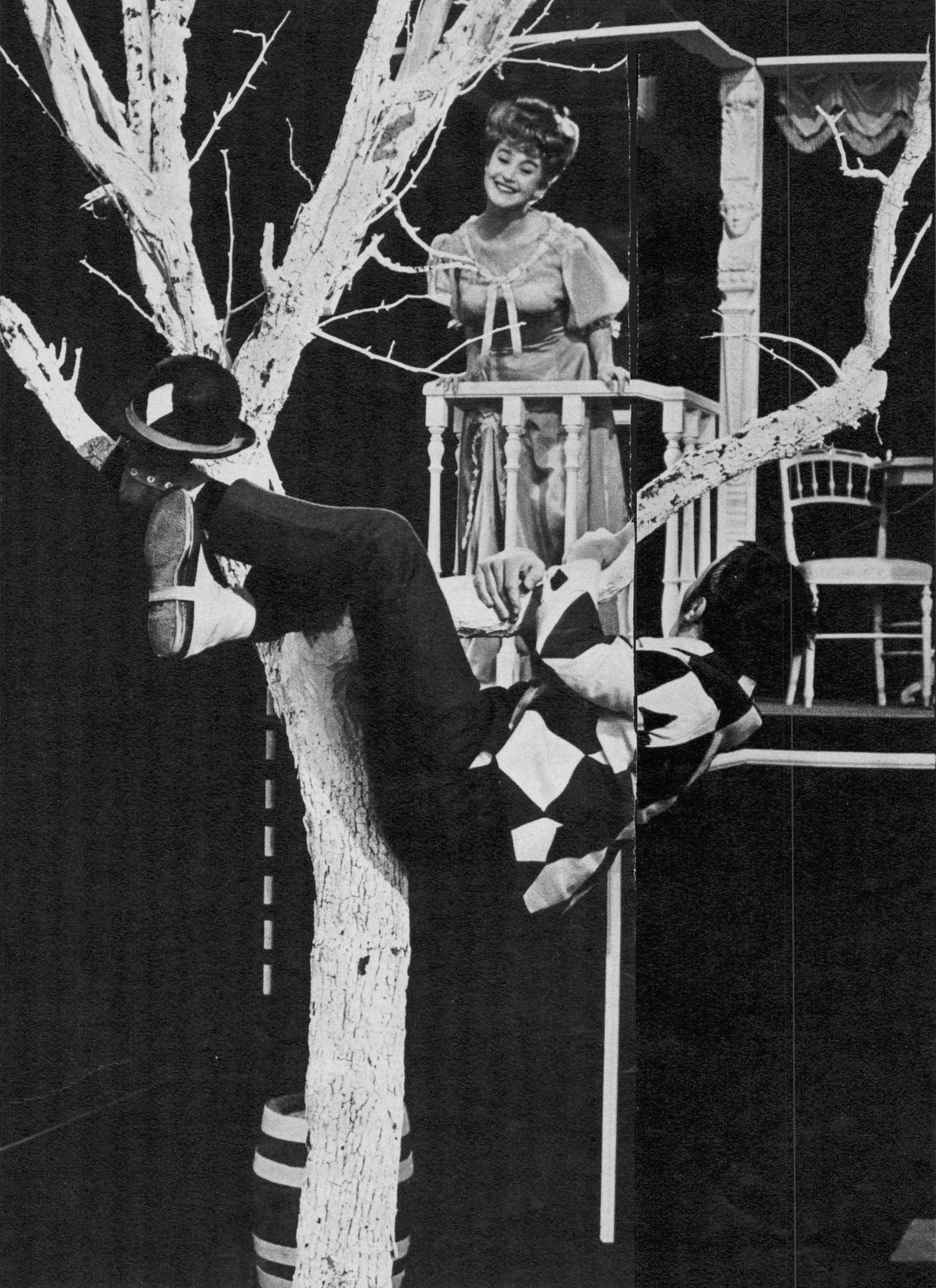 Émile Jaques-Dalcroze, Les Jumeaux de Bergame, adapté pour la télévision par Roger Burkhardt - Nérine et Arlequin