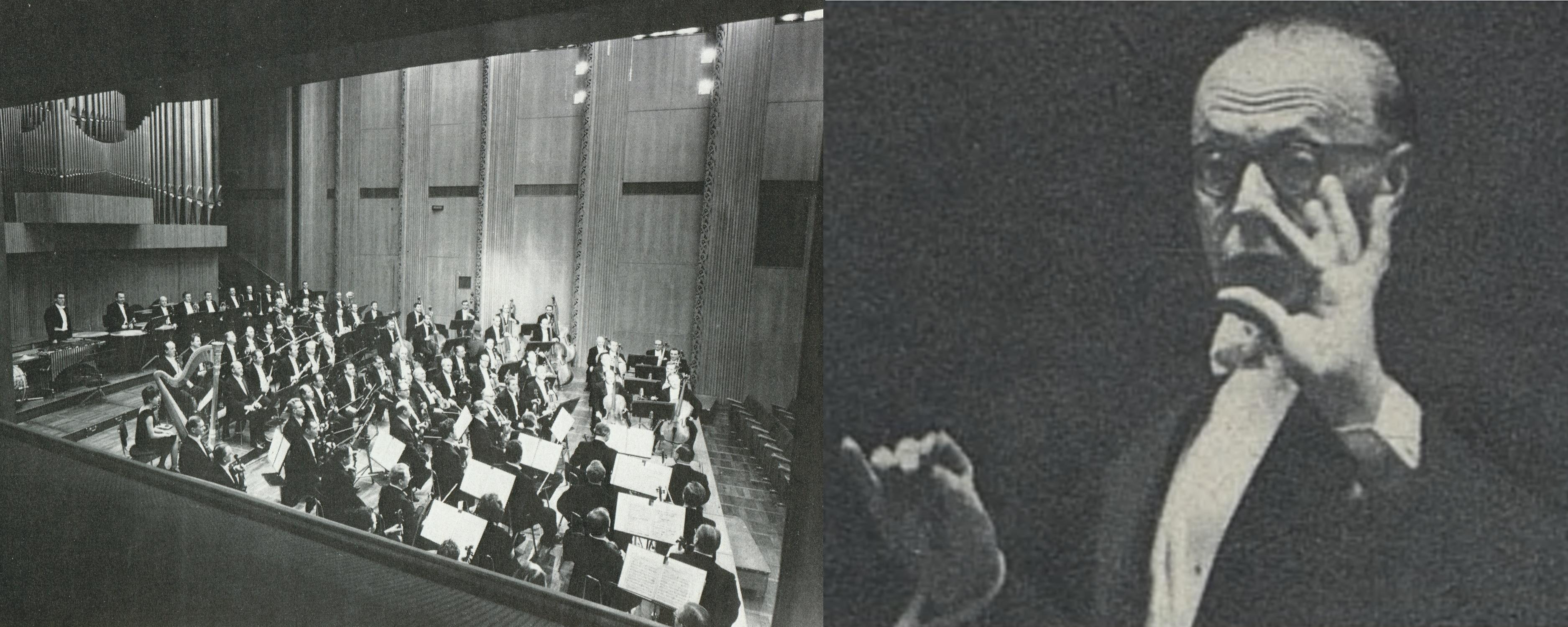 Grande salle de concert de la Maison de la Radio de Cologne - George SZELL