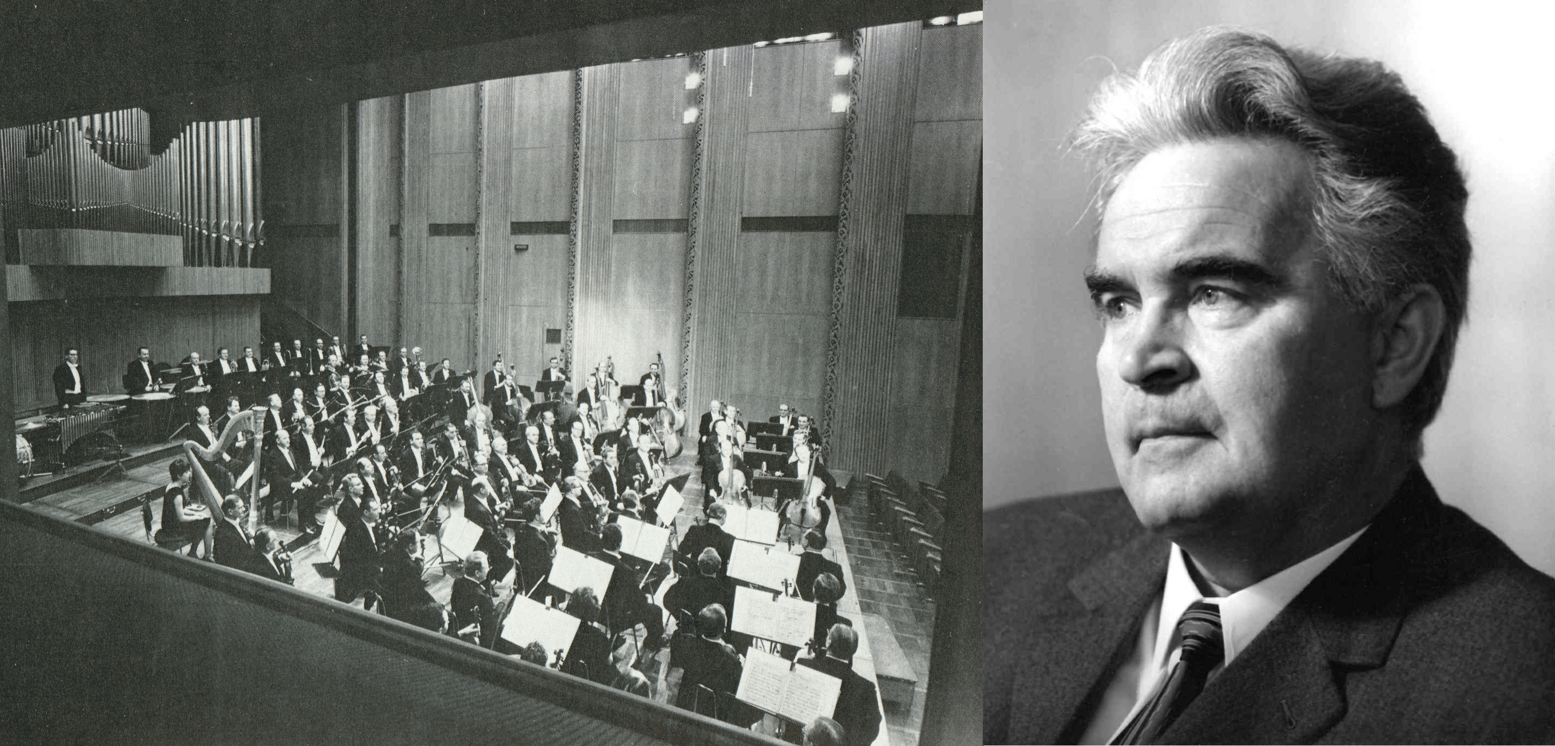 Kölner-Rundfunk-Sinfonie-Orchester im grossen Sendesaal Köln - Wilhelm Schüchter