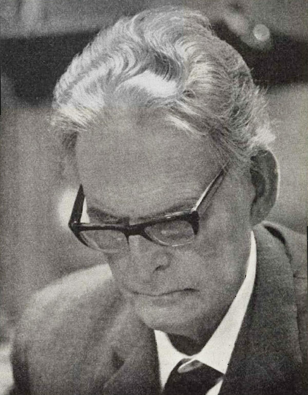 Otto Klemperer, photo de presse EMI, env. 1965, cliquer pour une vue agrandie