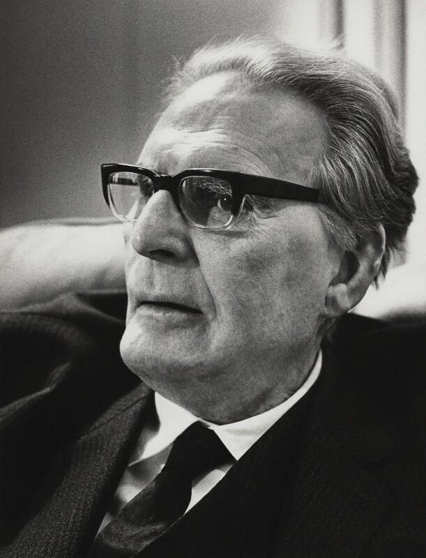 Otto Klemperer, Godfrey Argent, bromide print, 4 February 1969, NPG x166011, © National Portrait Gallery, London, https://www.npg.org.uk/collections/search/portrait/mw119050, cliquer pour une vue agrandie