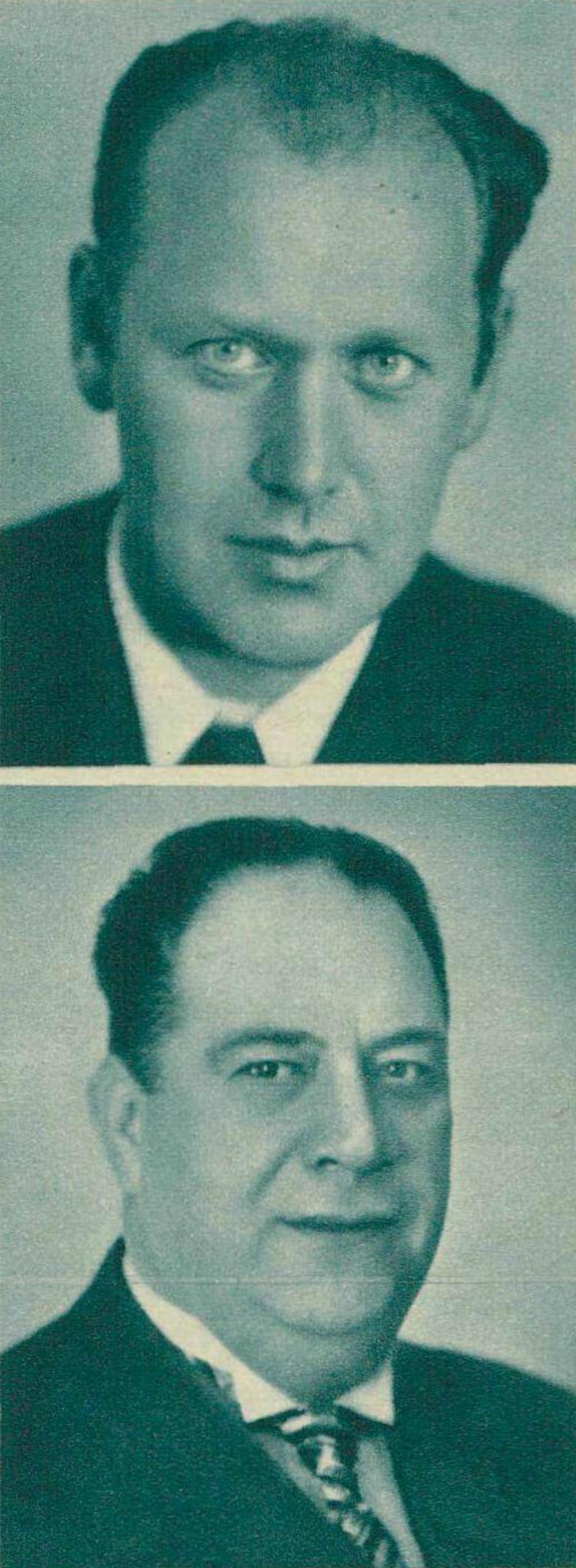 Alexander KRANNHALS et Ernest MESTRALLET, Cliquer sur la photo pour une vue agrandie et les références