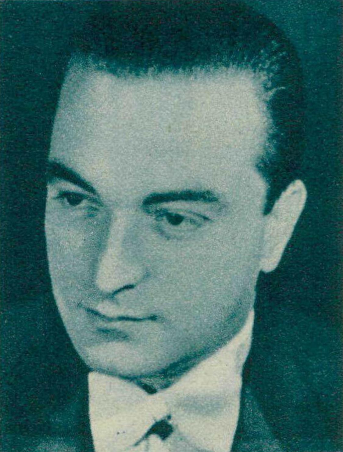 Paolo LONGINOTTI, Revue Radio Actualités du 31 janvier 1947, page 140, cliquer pour une vue agrandie