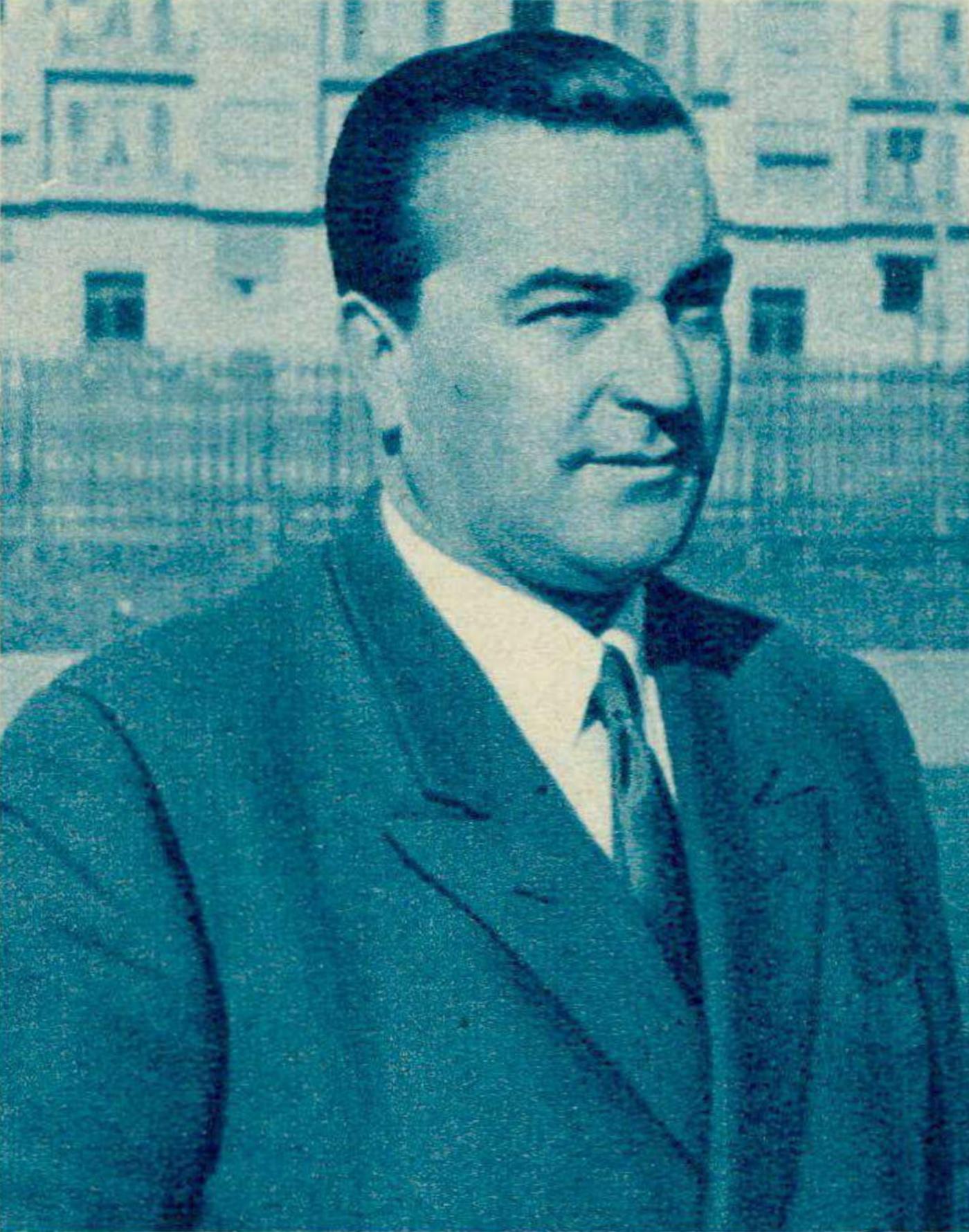 Paolo LONGINOTTI, Revue Radio Télévision du 22 mai 1953, No 21, page 815, cliquer pour une vue agrandie